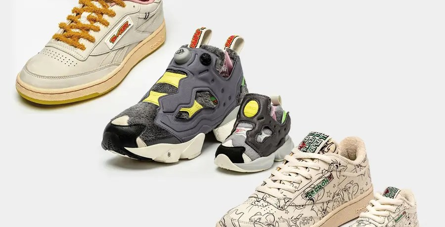 Tom and Jerry × Reebok Collaboration Collection (トムとジェリー × リーボック コラボレーション コレクション)