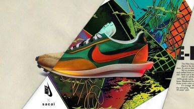 Sacai × Nike LDWaffle サカイ ナイキ コラボ LDワッフル