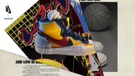 Sacai × Nike Blazer Mid サカイ × ナイキ ブレーザー ミッド