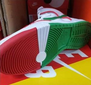 "Paul Rodriguez × Nike SB Dunk High PRM QS ""Mexican Boxing"" (ポール・ロドリゲス × ナイキ SB ダンク ハイ PRM QS ""メキシカン ボクシング"") CT6680-100"