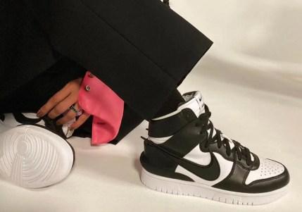 アンブッシュ × ナイキ ダンク ハイ AMBUSH × Nike Dunk Hiコラボ Black Yoon close photo
