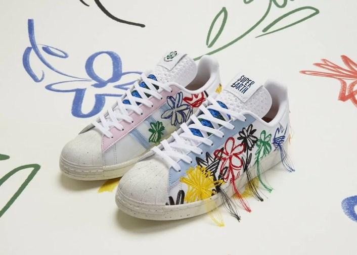 "Sean Wotherspoon × adidas Originals Superstar ""Super Earth"" (ショーン・ウェザースプーン × アディダス オリジナルス スーパースター ""スーパー アース"") adidas main"