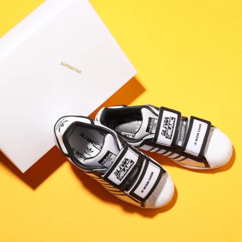 """adidas Superstar WMNS """"OLIVIA LBLANC × JI WON CHOI"""" (アディダス スーパースター ウィメンズ """"オリヴィア・オブラン × ジウォン・チェ"""") FW6635"""