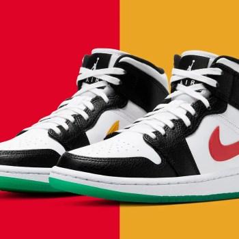 "Nike Air Jordan 1 Mid ""Lucid Green"" (ナイキ エア ジョーダン 1 ミッド ""ルシッド グリーン"") BQ6472-063"