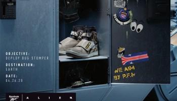 Reebok × Alien 2 U.S.C.M. BUG STOMPER FV5052-12
