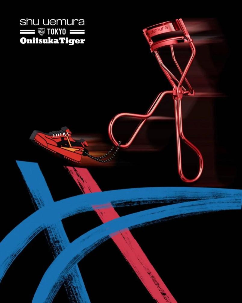 shu uemura × Onitsuka Tiger tokyo collaboration Collection シュウ ウエムラ オニツカタイガー コラボ コスメ メイク 東京