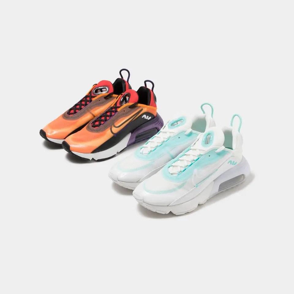 """Nike Air Max 2090 """"AURORA GREEN"""" """"MAGMA ORANGE"""" (ナイキ エア マックス 2090 """"オーロラ グリーン"""" """"マグマ オレンジ"""") CK2612-101, BV9977-800"""