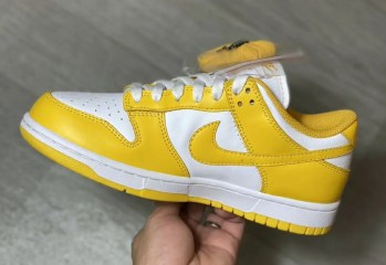 Nike Dunk Low WMNS 2021 ナイキ ダンク ロー ウィメンズ 2021年 イエロー side