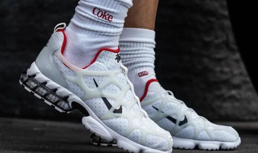 Stussy-Nike-Air-Zoom-Spiridon-KK-White-Habanero-Red-CJ9918-100-02