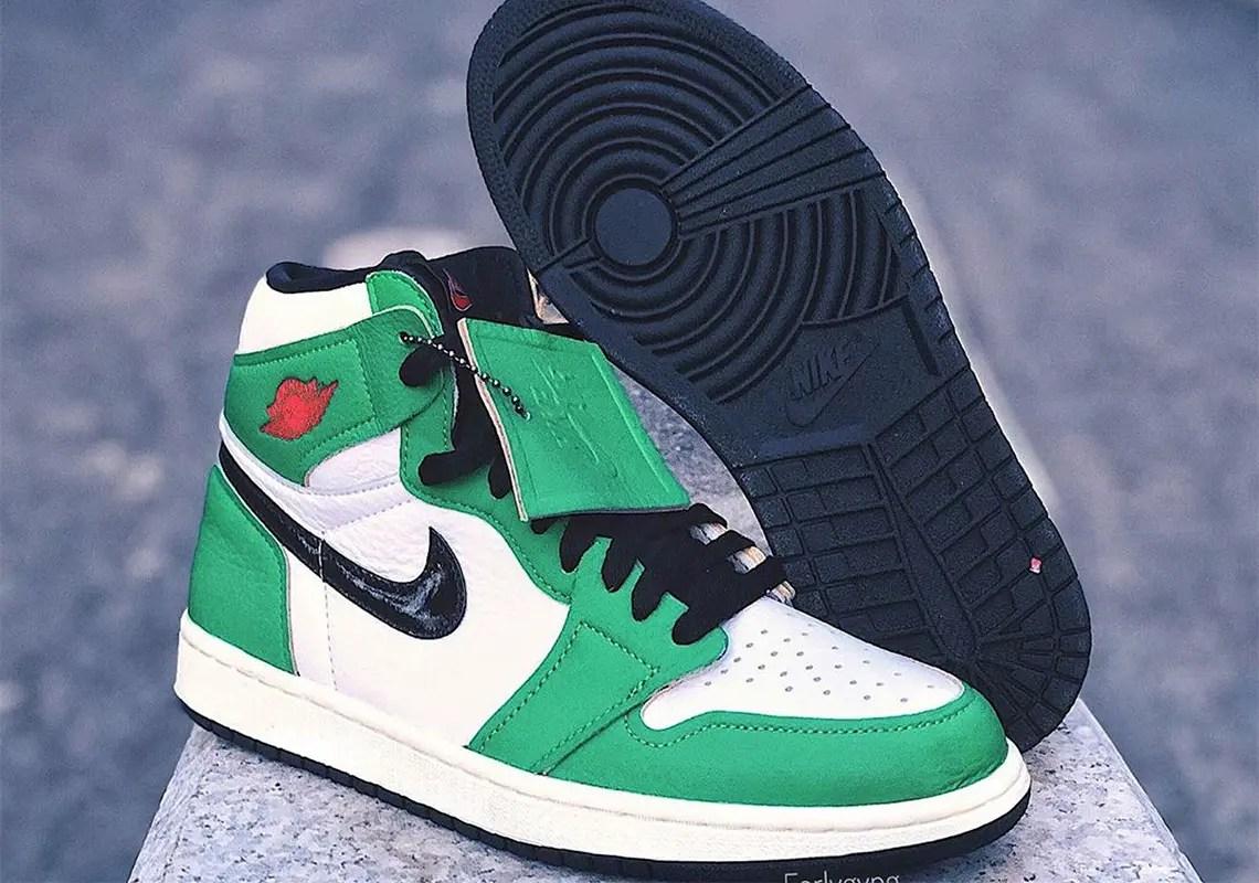 """Nike WMNS Air Jordan 1 High OG """"Lucky Green"""" (ナイキ ウィメンズ エア ジョーダン 1 ハイ OG """"ラッキー グリーン"""") DB4612-300"""