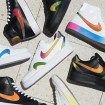 Nike Air Force 1 Blazer colorful holograms-08