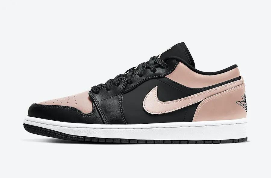 """Nike Air Jordan 1 Low """"Crimson Tint"""" (ナイキ エア ジョーダン 1 ロー """"クリムゾン ティント"""") 553558-034"""