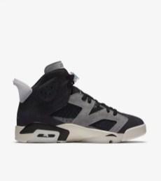 "Nike WMNS Air Jordan 6 ""Tech Chrome"" ナイキ ウィメンズ エア ジョーダン 6 ""テック クローム"" CK6635-001 rightside"