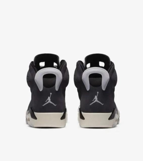 "Nike WMNS Air Jordan 6 ""Tech Chrome"" ナイキ ウィメンズ エア ジョーダン 6 ""テック クローム"" CK6635-001 back"