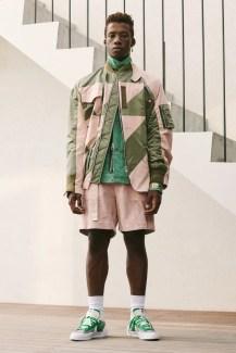 Sacai × Nike Blazer Low (サカイ × ナイキ ブレーザー ロー) Green menswear