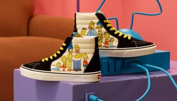 The Simpsons x Vans collaboration collection-01