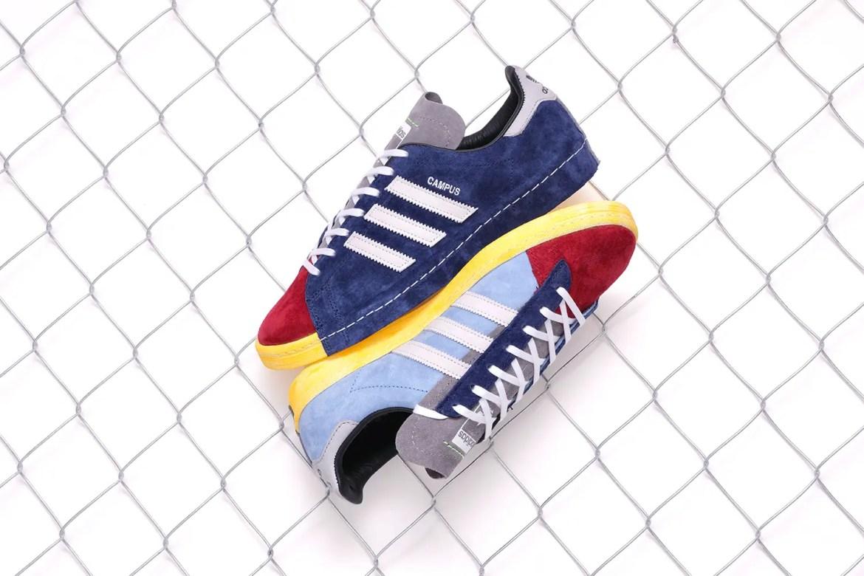 "RECOUTURE x mita sneakers x adidas CAMPUS 80S SH MITA ""CONSORTIUM""(リクチュール x ミタスニーカーズ x アディダス キャンパス 80S SH ミタ ""コンソーシアム"") FY4618 main"