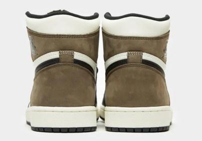 "Nike Air Jordan High ""Dark Mocha"" ナイキ エアジョーダン ハイ ""ダークモカ"" 555088-105 main back"