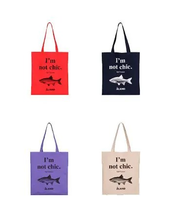 Aland 韓国ファッション ブランド 人気 おすすめ ショップ Korea Seoul Store Fish Eco Bag エコバッグ