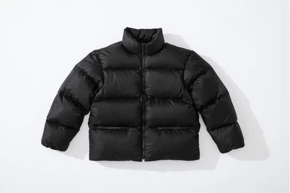 supreme 2020fw week4 シュプリーム 秋冬コレクション Down Jacket black front