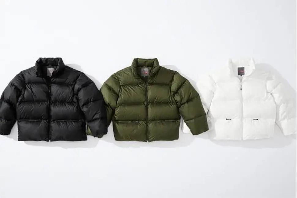supreme 2020fw week4 シュプリーム 秋冬コレクション Down Jacket main front