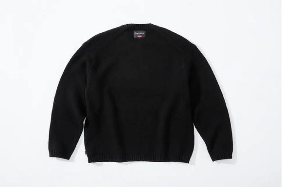 supreme 2020fw week4 シュプリーム 秋冬コレクション Sweater back