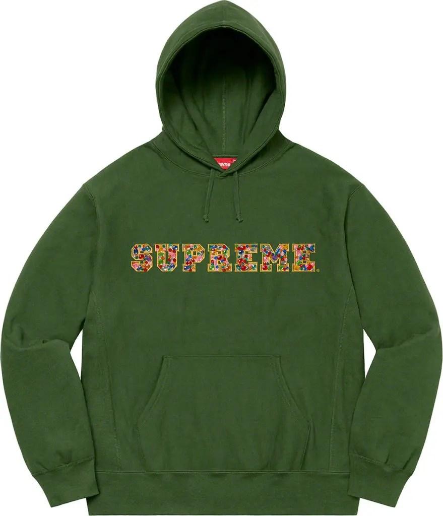 supreme 2020fw シュプリーム 2020年秋冬 week3 Jewels Hooded Sweatshirt green
