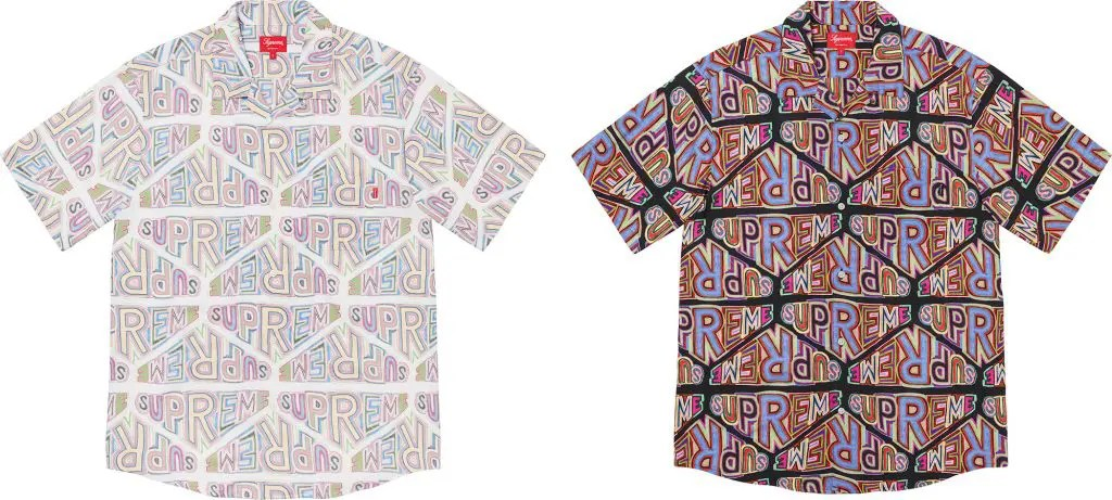 supreme 2020fw シュプリーム 2020年秋冬 week3 Perspective Rayon S/S Shirt all