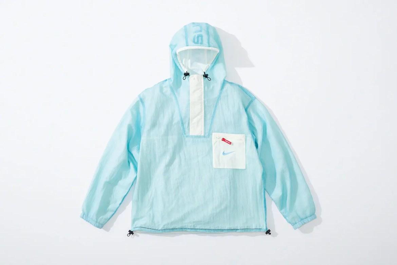 supreme nike collaboration apparel 2020fw 20200905 week2 シュプリーム ナイキ 2020秋冬 anorack blue