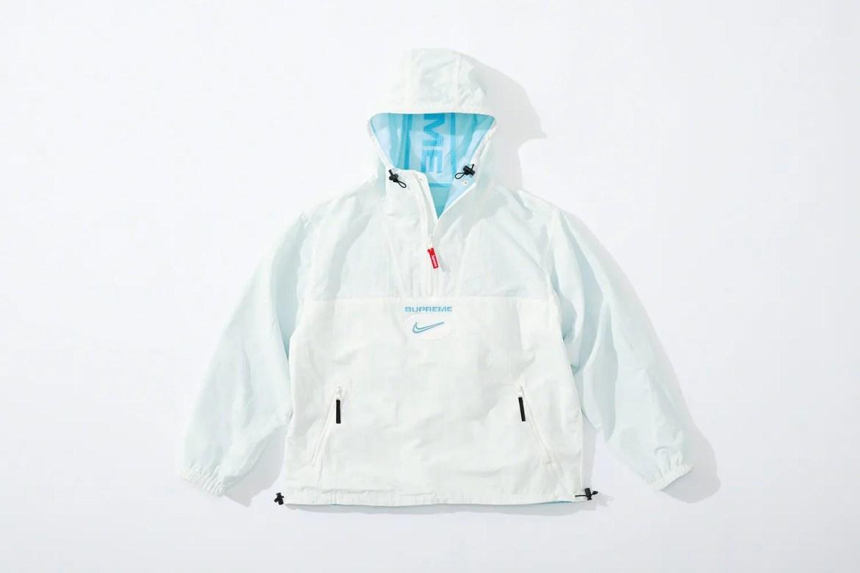 supreme nike collaboration apparel 2020fw 20200905 week2 シュプリーム ナイキ 2020秋冬 anorack blue reverse