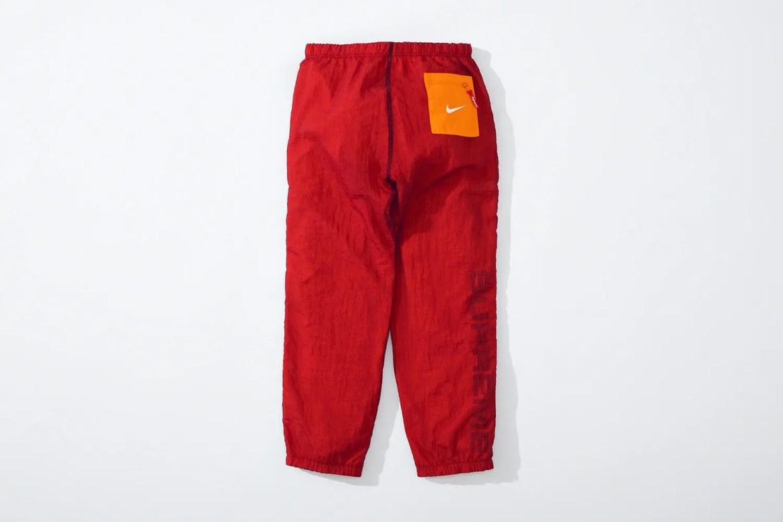 supreme nike collaboration apparel 2020fw 20200905 week2 シュプリーム ナイキ 2020秋冬 Reversible Ripstop Pant red back