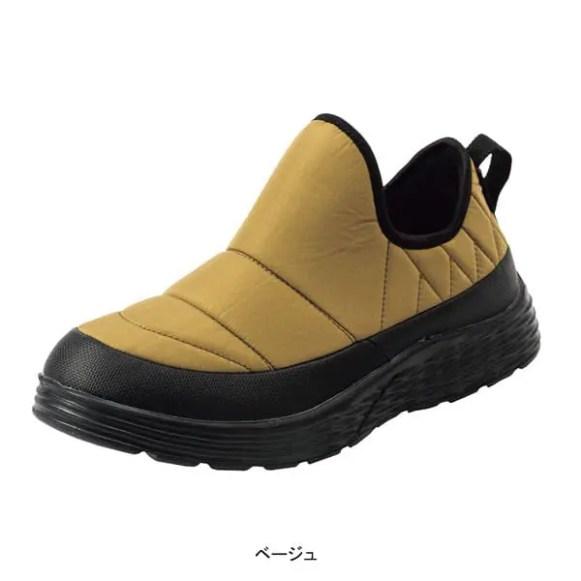 ワークマン防水シューズ エルタ(workman_water_resist_shoes_elta_FC072_beige)