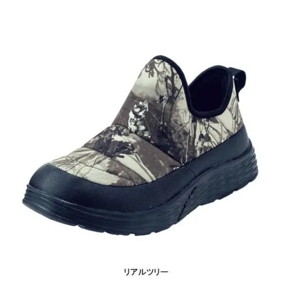 ワークマン防水シューズ エルタ リアルツリー(workman_water_resist_shoes_elta_FC072_realtree)