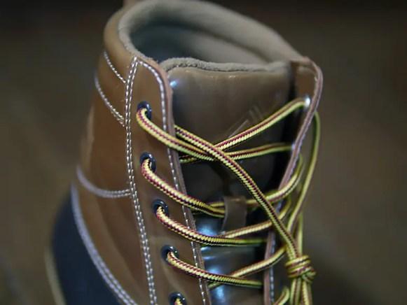 ワークマン防寒ブーツ ラークス : クローズアップ (workman_winter_boots_larks_close_up)