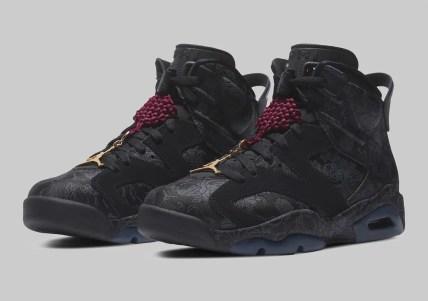 """ナイキ エアジョーダン 6 SD ウィメンズ """"シングルズデー"""" Nike Air-Jordan-6-Singles-Day-DB9818-001-pair"""