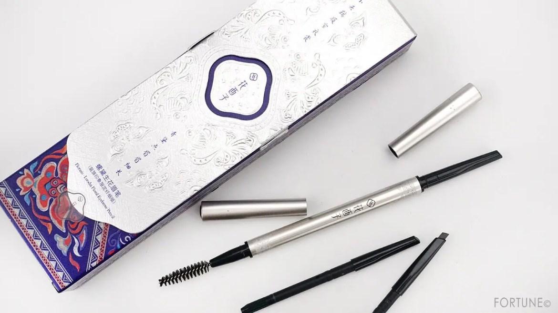 花西子 Florasis 中国コスメ クリスマス コフレ 2020年 Chinese Cosmetics Christmas Coffret 2020 eyebrow pencil set