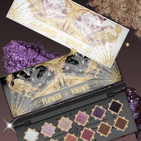 FlowerKnows フラワーノウズ 中国 中華 コスメ クリスタル Chinese Cosmetics Christmas 2020 palette
