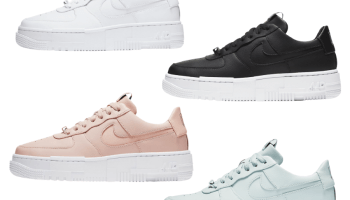 Nike Air Force 1 Pixel White Black Blue Pink 4 colors-01