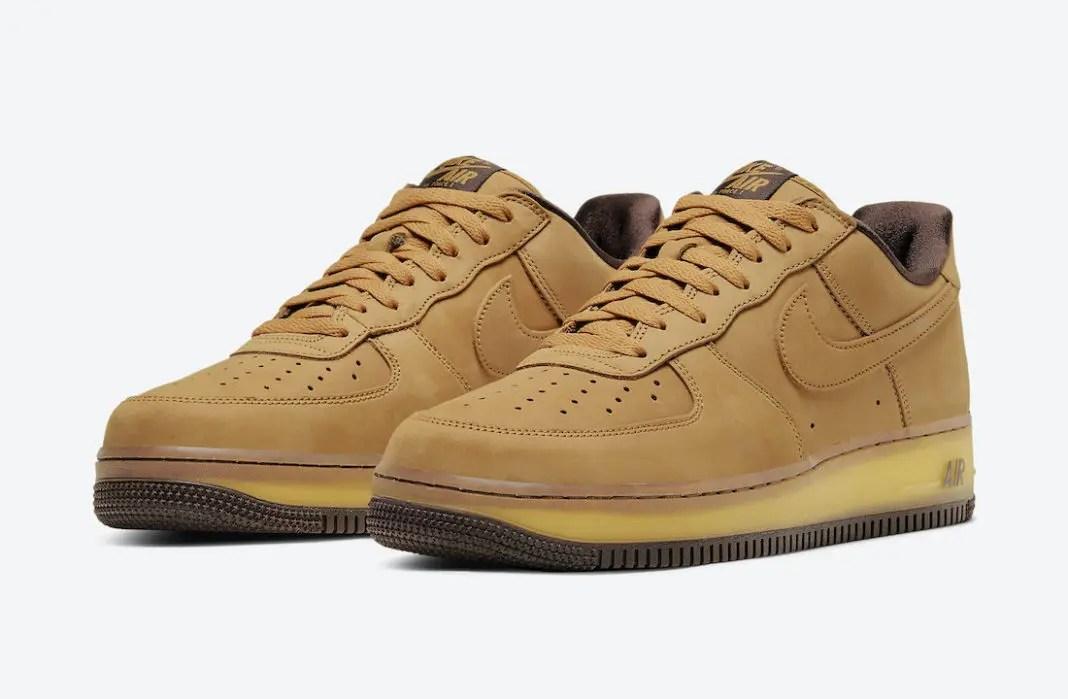 ナイキ エア フォース 1 ウィート モカ Nike Air Force 1 Wheat Mocha DC7504-700 pair main