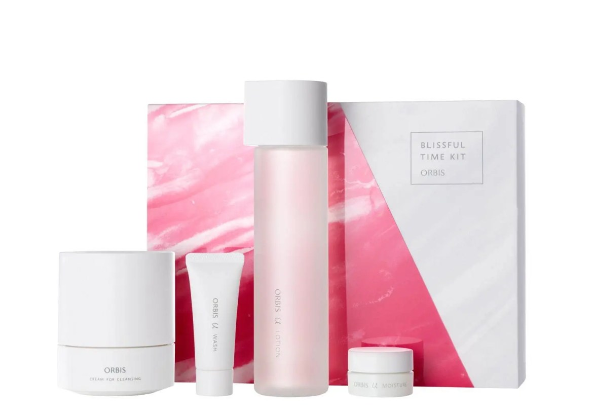 ORBIS Christmas Cosmetics 2020 Skincare Set オルビス クリスマス コフレ