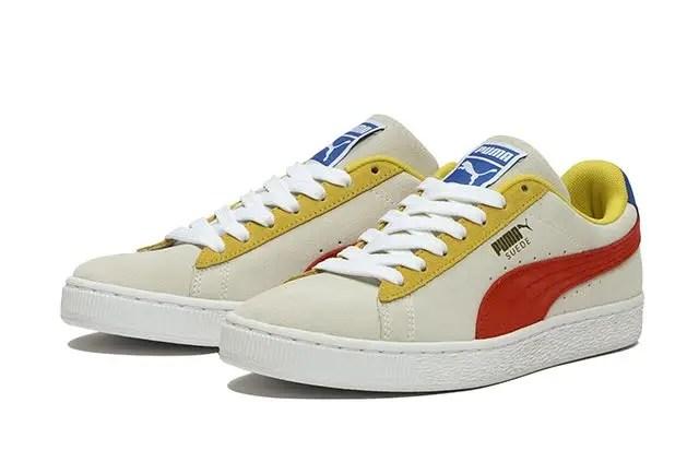 プーマ スウェード クラシック ホワイト Puma-Suede-Classic-White-pair2