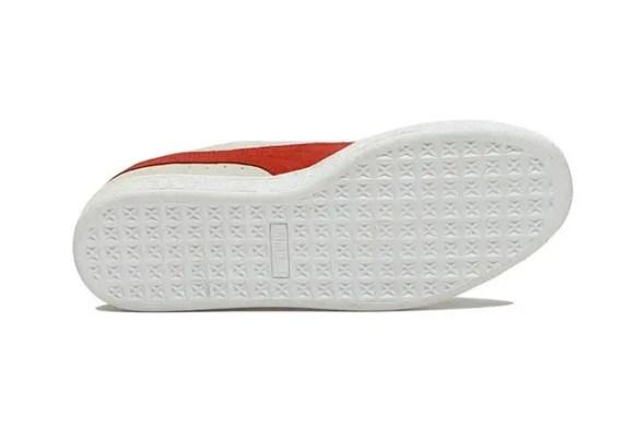 プーマ スウェード クラシック ホワイト Puma-Suede-Classic-White-sole