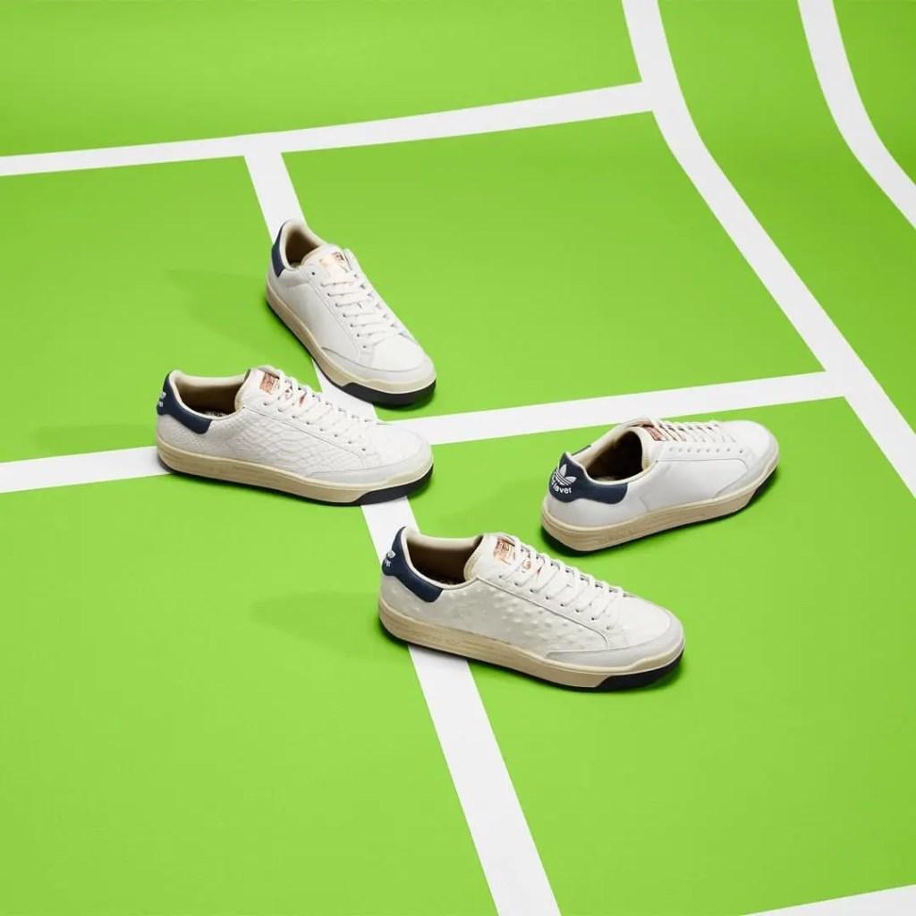 adidas Consortium Rod Laver Leather Pack 4 colors アディダス コンソーシアム ロッド レイバー レザー パック 4 モデル