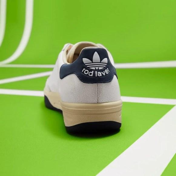 adidas Consortium Rod Laver Leather Pack 4 colors アディダス コンソーシアム ロッド レイバー レザー パック cracked heel