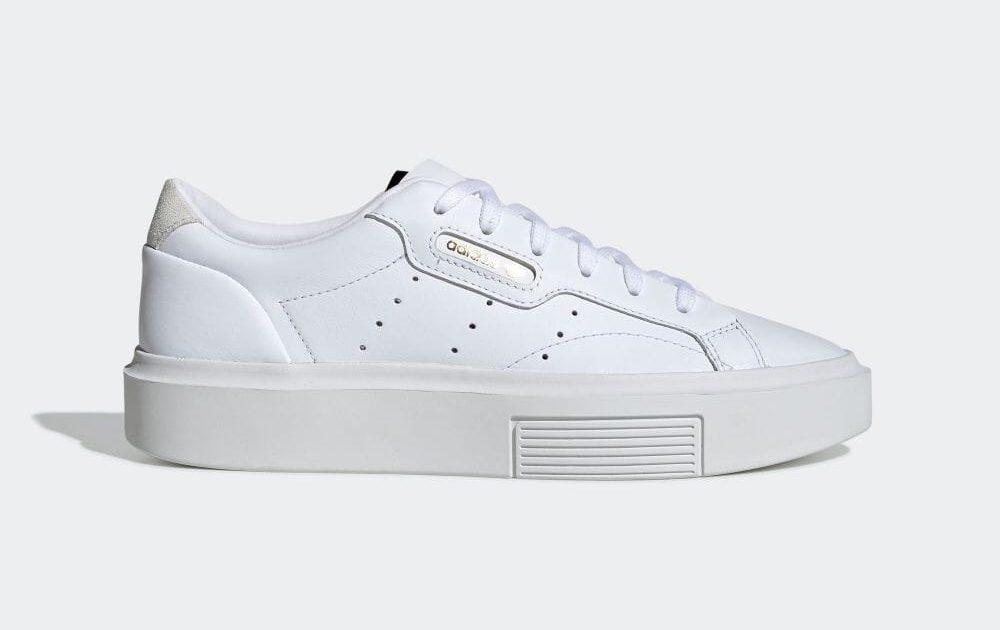 アディダス スリーク スニーカー ホワイト adidas-Sleek-Super-EF8858-standard-side_White