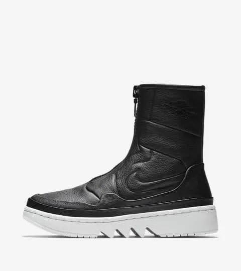 Nike エアジョーダン 1Jester XX-winter-sneaker-warm-style-air-jordan-1-jester-xx-black-sail