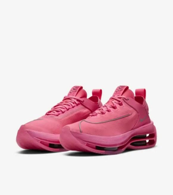 """ナイキ ウィメンズ ズーム ダブル スタックド """"ピンクブラスト"""" nike-pink-blast-cz2909-600-womens-zoom-double-stacked-pair"""