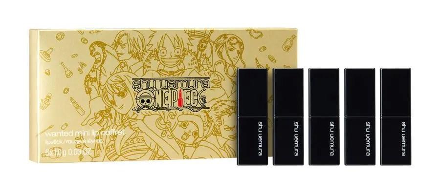 shu uemura x ONE PIECE Mini Lip Sticks シュウウエムラ ワンピース コラボ ミニ リップ 口紅
