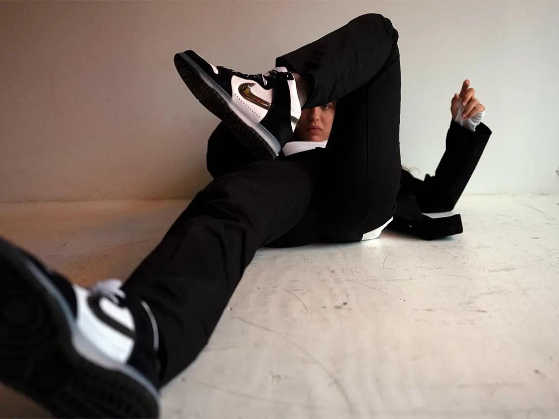スラムジャム × ナイキ ダンク ハイ クリアブラック slam-jam-nike-dunk-high-black-style