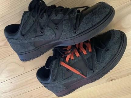 オフホワイト x ナイキ ダンク ロー ブラック Off-White-Nike-Dunk-Low-Black-looks
